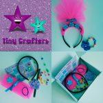 Pink Troll Headband Craft Box