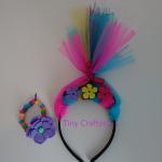 Rainbow Troll Children's Craft Box