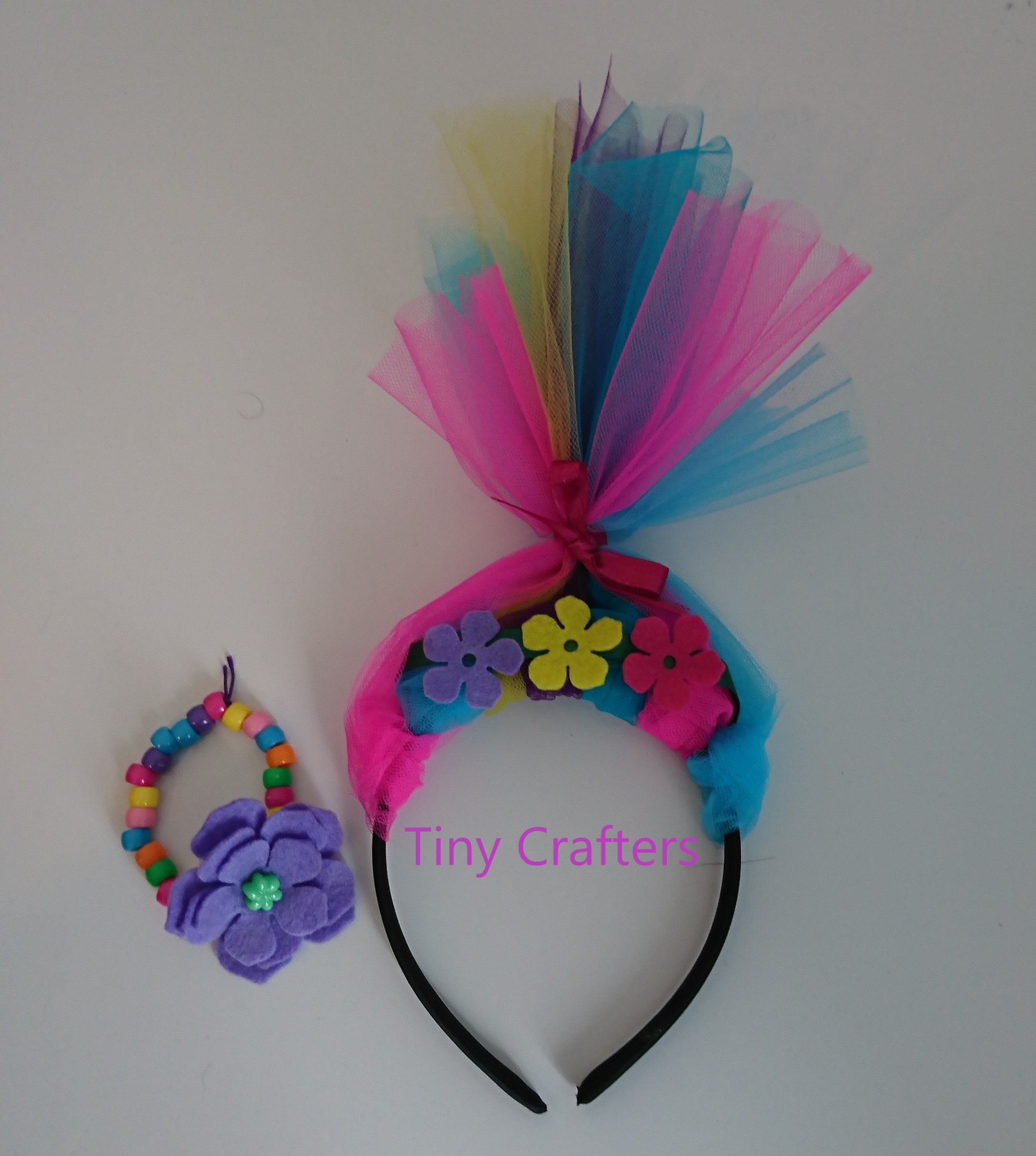 Rainbow Troll Children's Craft Box