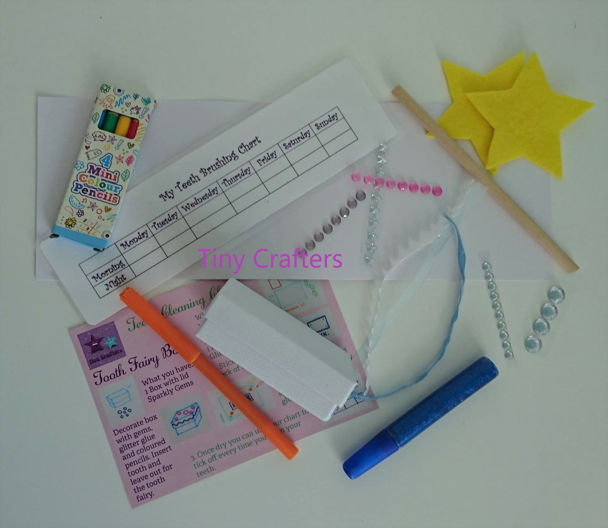 Tooth Fairy Children's Craft Box