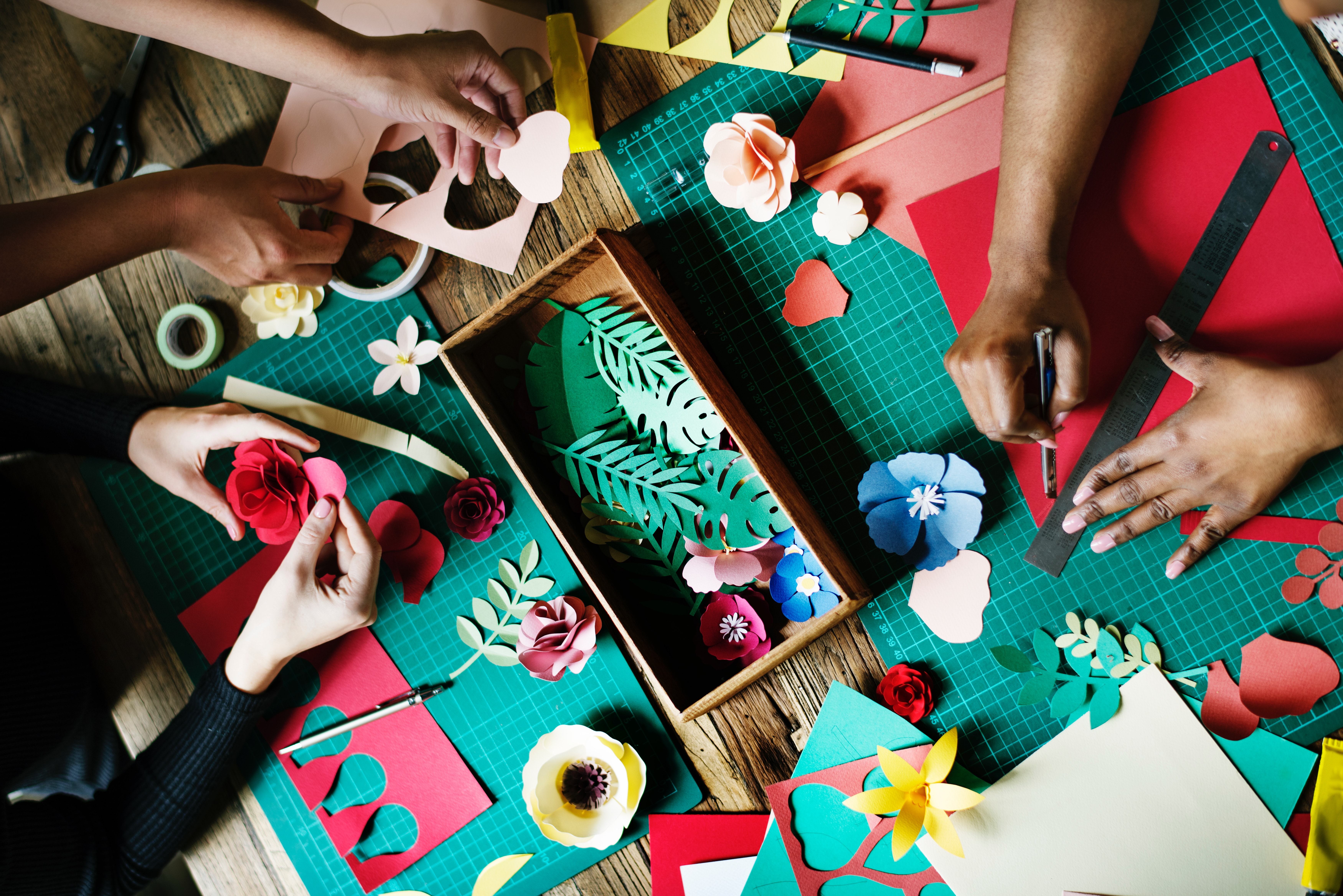 Craft Group Anxiety Relaxation