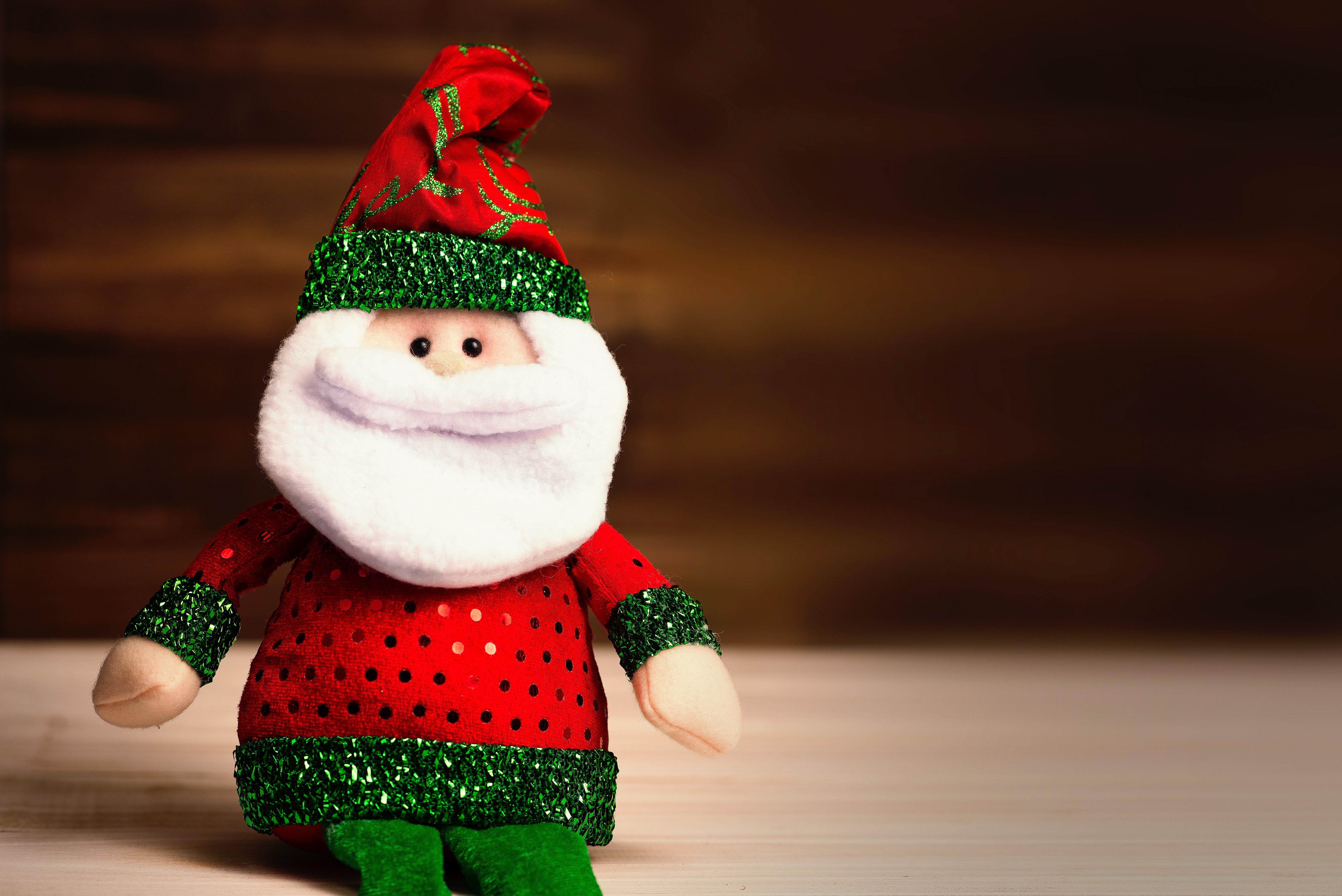 Santa toddler visit Christmas